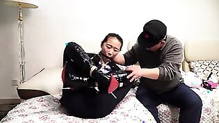 Two Asian bitches in hot foot fetish