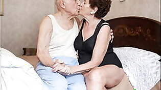 old couples posing