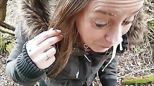 Outdoor Facial is So Refreshing / Nature Cumwalk