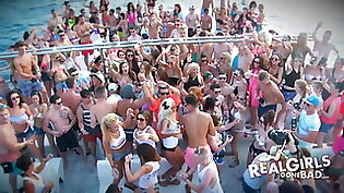 Real Girls Gone Bad Sexy Naked Boat Party Booze Cruise HD Pr