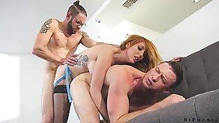 Threeway with the boss is fun especially if your employer is Lauren Phillips