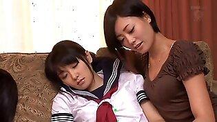 NANA in Schoolgirls, Confinement, Anal Sex... Lesbian Series