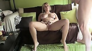 Shy Amateur French Girl In Rough Casting