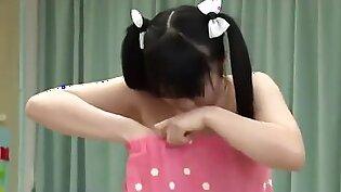 [RCT-421] The 170cm petite schoolgirl get fucked during examination