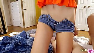 Yummy stepsister Chloe Scott gets intimate with her kinky step brother
