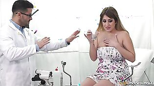 Kinky doctor sedates his patient and takes her to his dungeon
