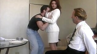 Wild fucking between a lucky guy and cheating housewife Rayleene
