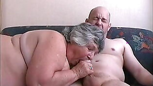 83 year old Grandma Libby loves young cock