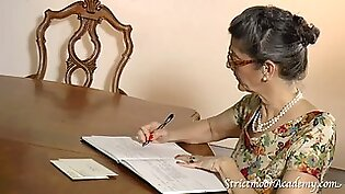 Strict education 5