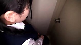 Dazzling Korean teen gets drilled rough by a group of boys